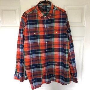 Polo Ralph Lauren Western Plaid Shirt Men's